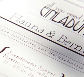 Print Hochzeit