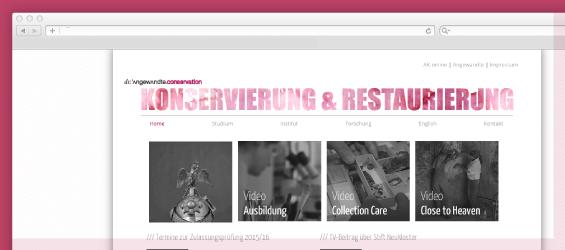 Webdesign Angewandte