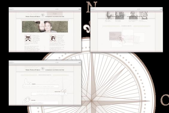 Webdesign Hochzeit