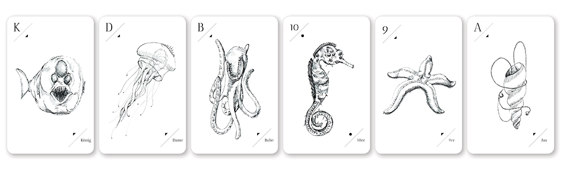 Printdesign Spielkarten