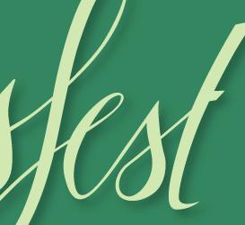 Lettering Fruehlingsfest