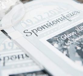 Printdesign Sponsionsfeier